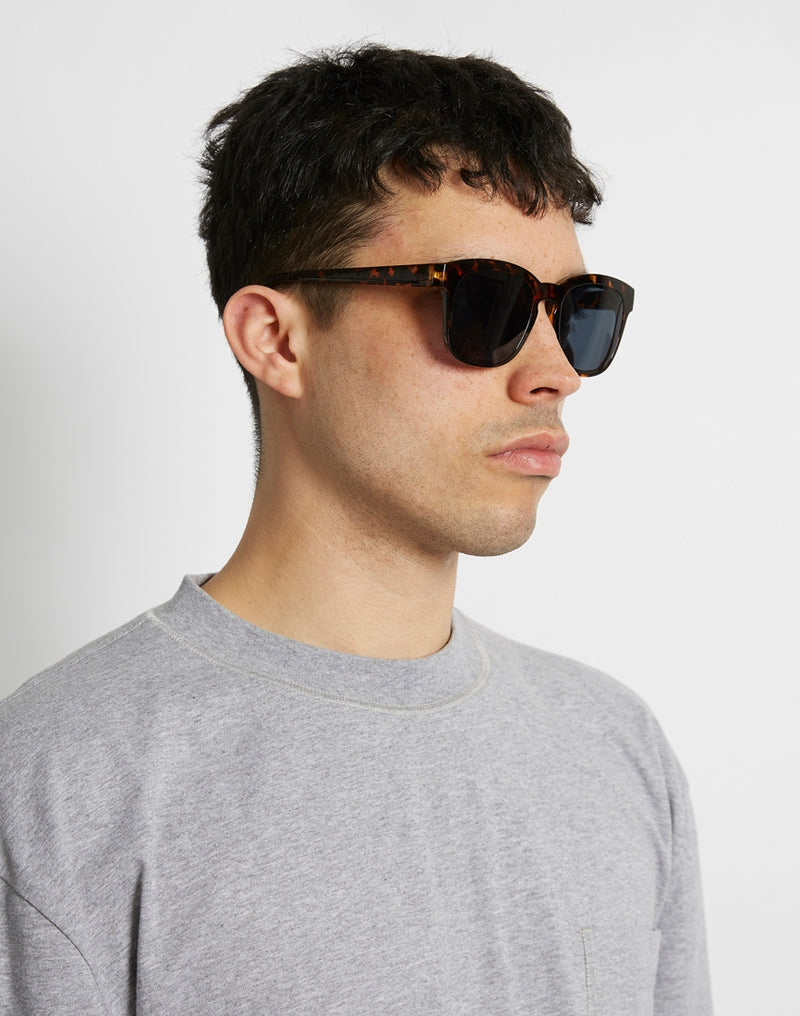 The Idle Man - Asteroid Wayfarer Sunglasses Brown