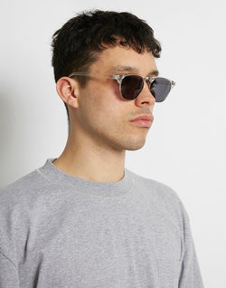 The Idle Man - Clubmaster Sunglasses Clear