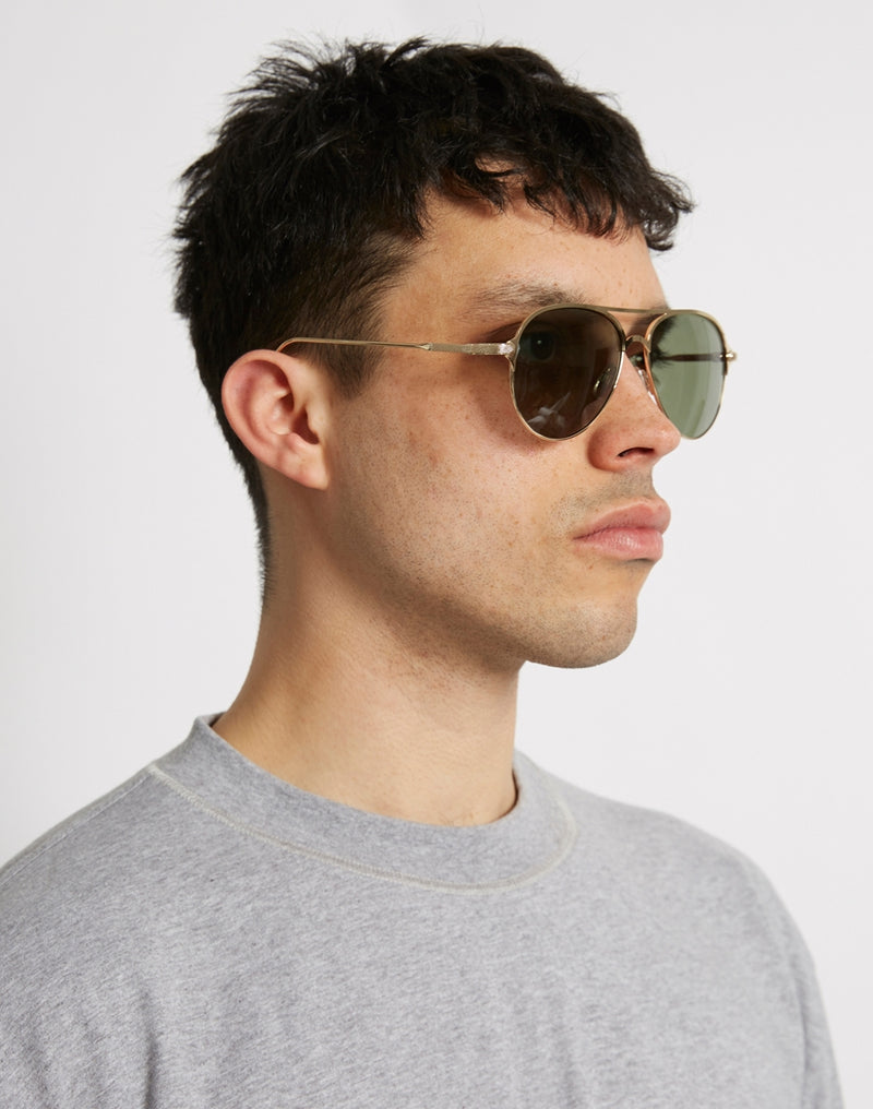The Idle Man - Classic Aviator Gold