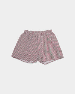 Sunspel - Seasonal Boxer Short With Robins Print