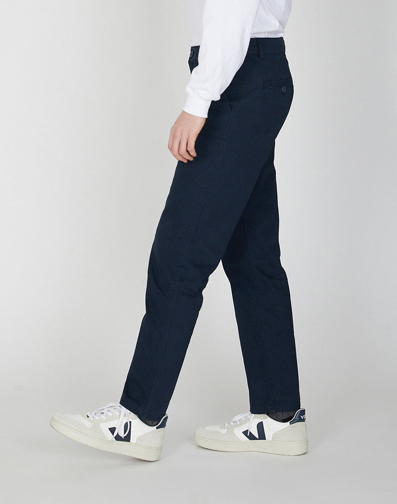 The Idle Man -  Slim Leg Chino Navy