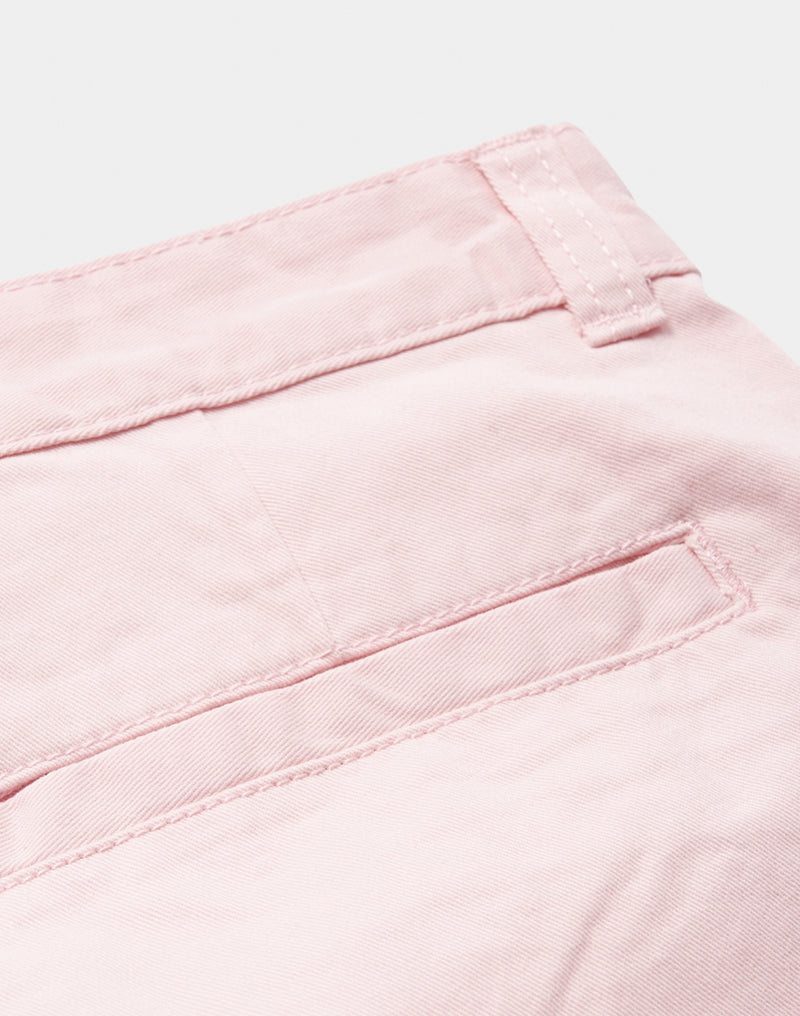 The Idle Man - Chino Shorts Pink