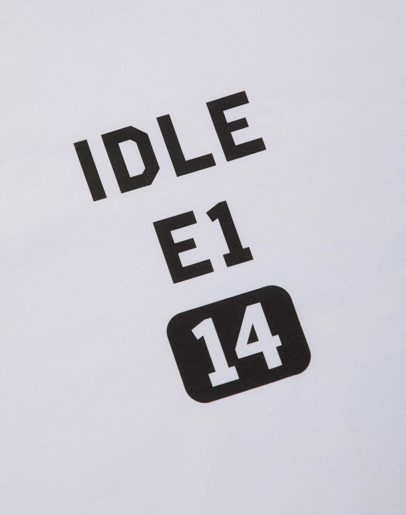 The Idle Man - E1 T-Shirt White
