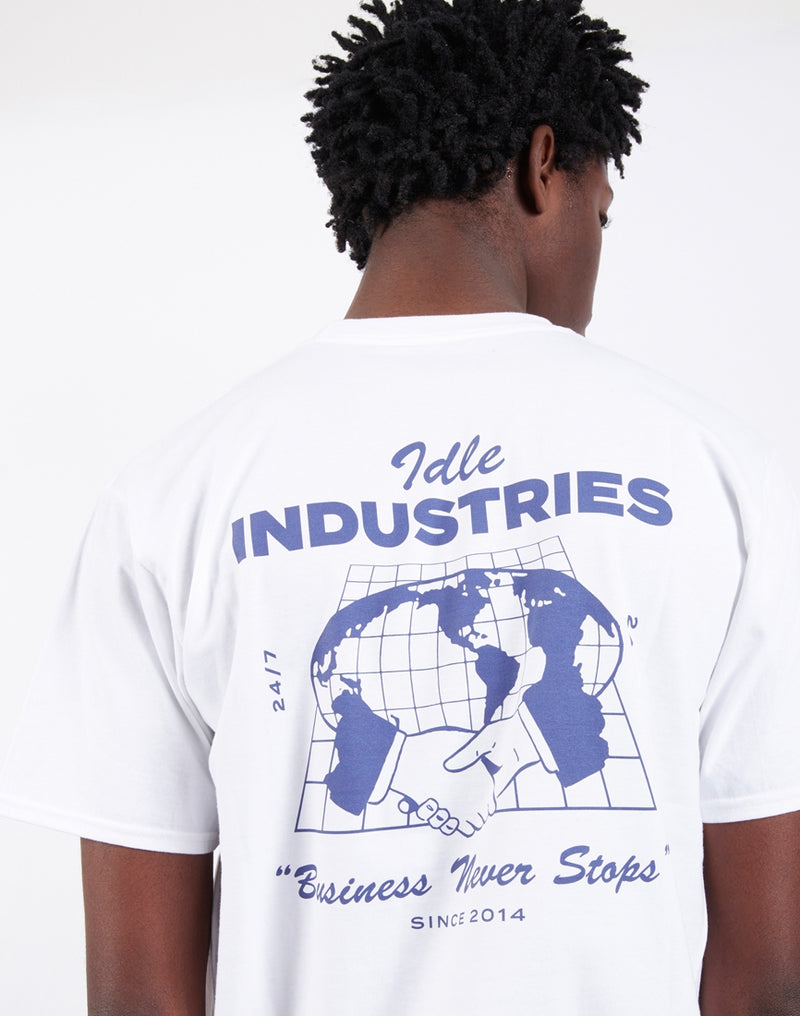 The Idle Man - Industries Print T-shirt