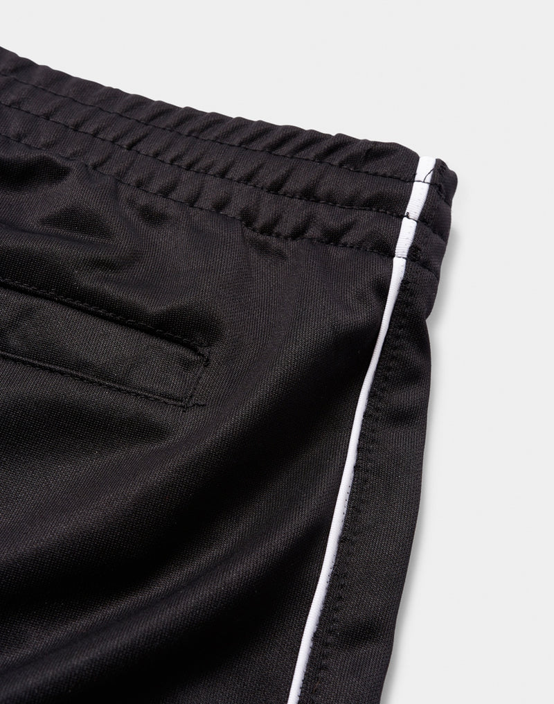 The Idle Man - Track Bottom Shorts With White Piping