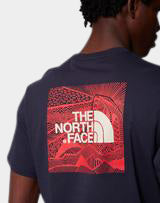 The North Face - Short Sleeve Redbox Celebration Tee Urban Navy