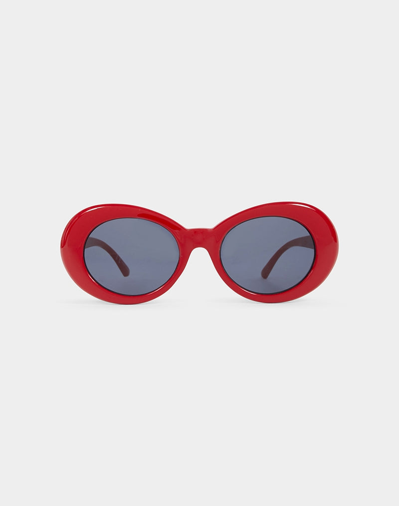 The Idle Man - CBain Sunglasses Red
