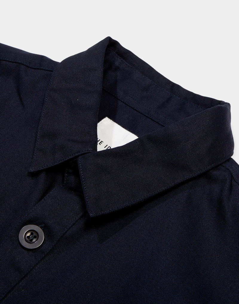 The Idle Man - Workwear Chore Jacket Navy