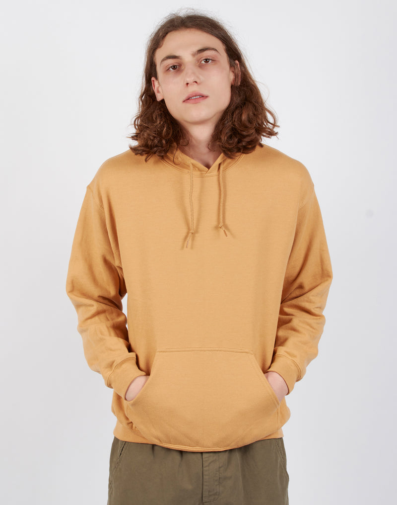 The Idle Man - Classic Overhead Hoodie Gold