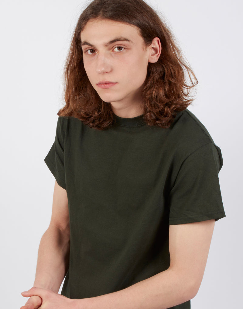The Idle Man - Classic T-Shirt Forest Green