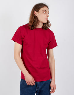 The Idle Man - Classic T-Shirt Wine Red