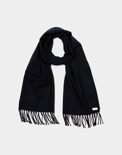 The Idle Man - Classic Woven Scarf French Navy