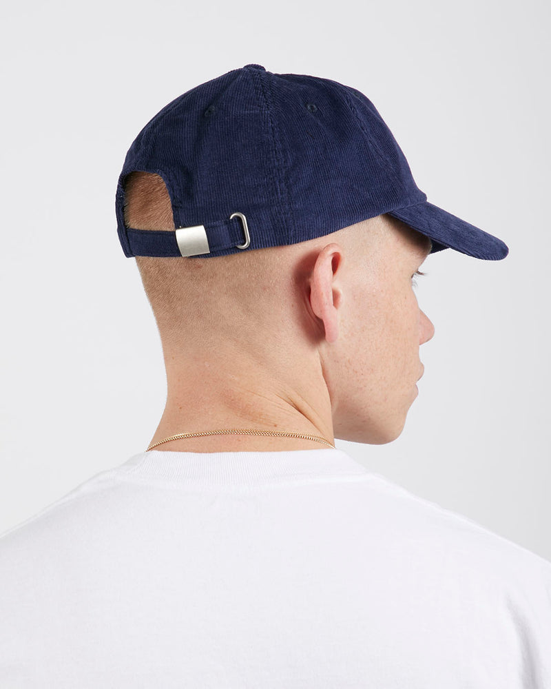 The Idle Man - Corduroy Cap Navy
