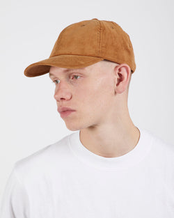 The Idle Man - Corduroy Cap Tan