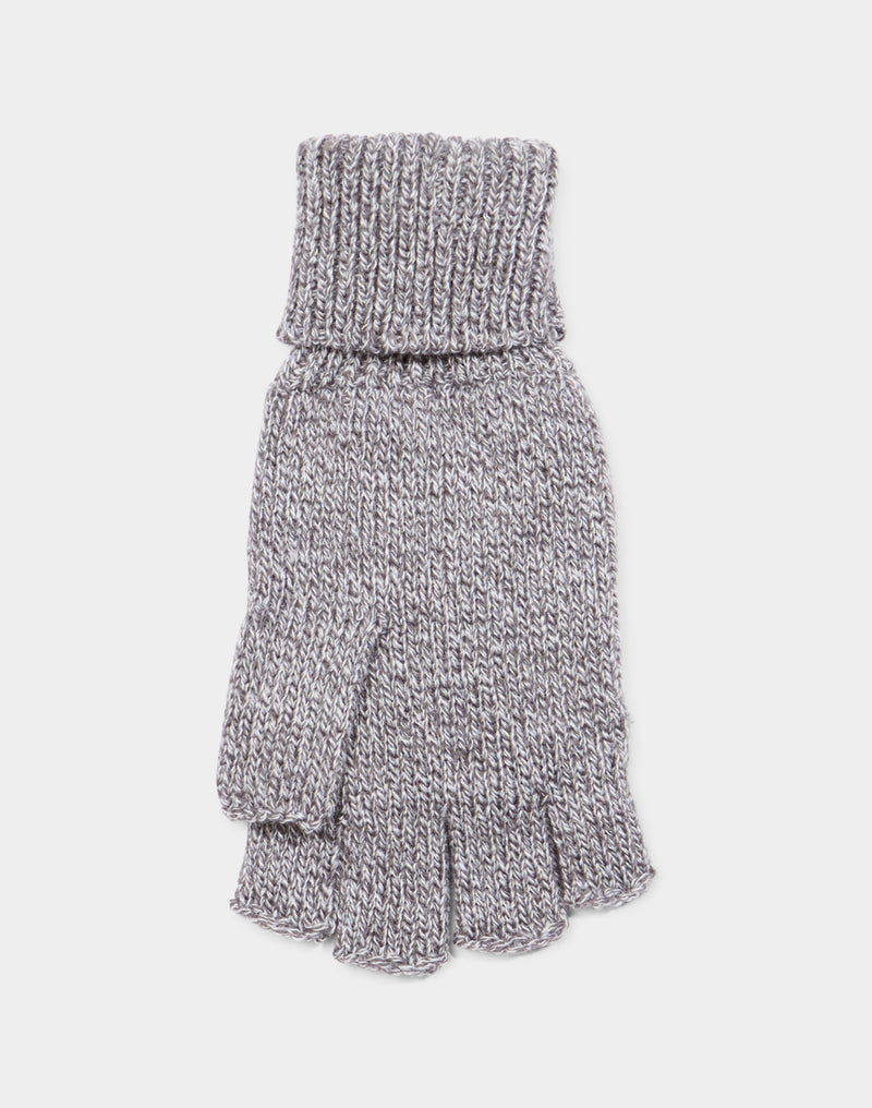 The Idle Man - Flip Top Gloves Heather Grey