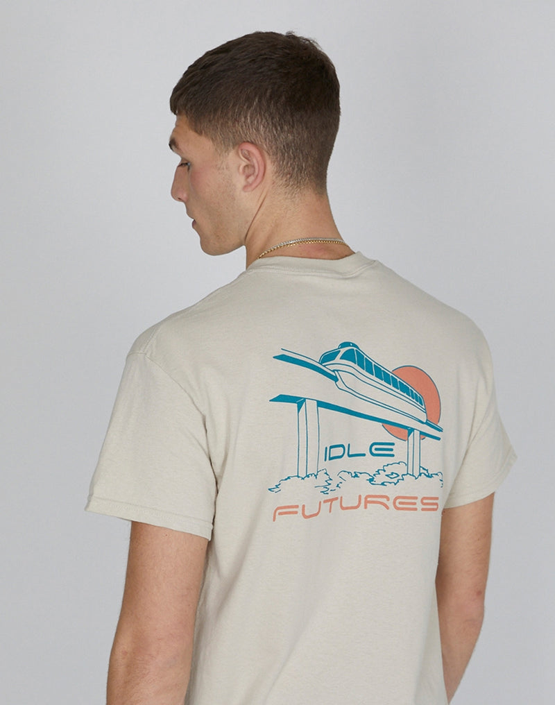 The Idle Man - Future T-Shirt Sand