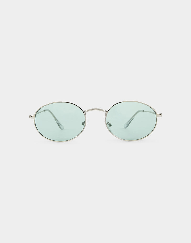 The Idle Man - Leon Sunglasses Blue