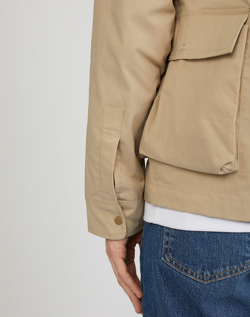 The Idle Man - Lightweight Worker Jacket Mushroom