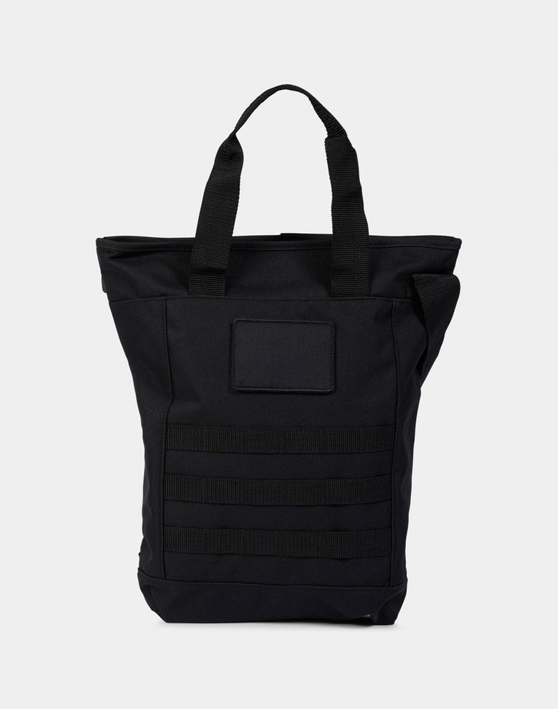 The Idle Man - Military Shoulder Tote Black