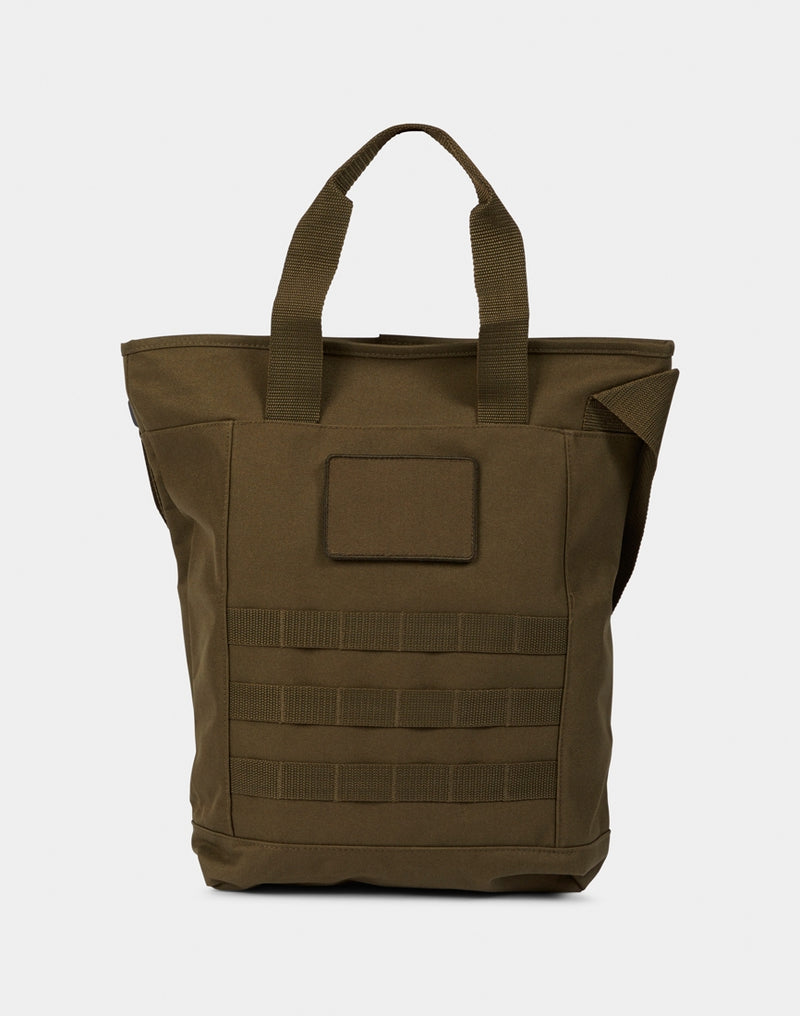 The Idle Man - Military Shoulder Tote Green