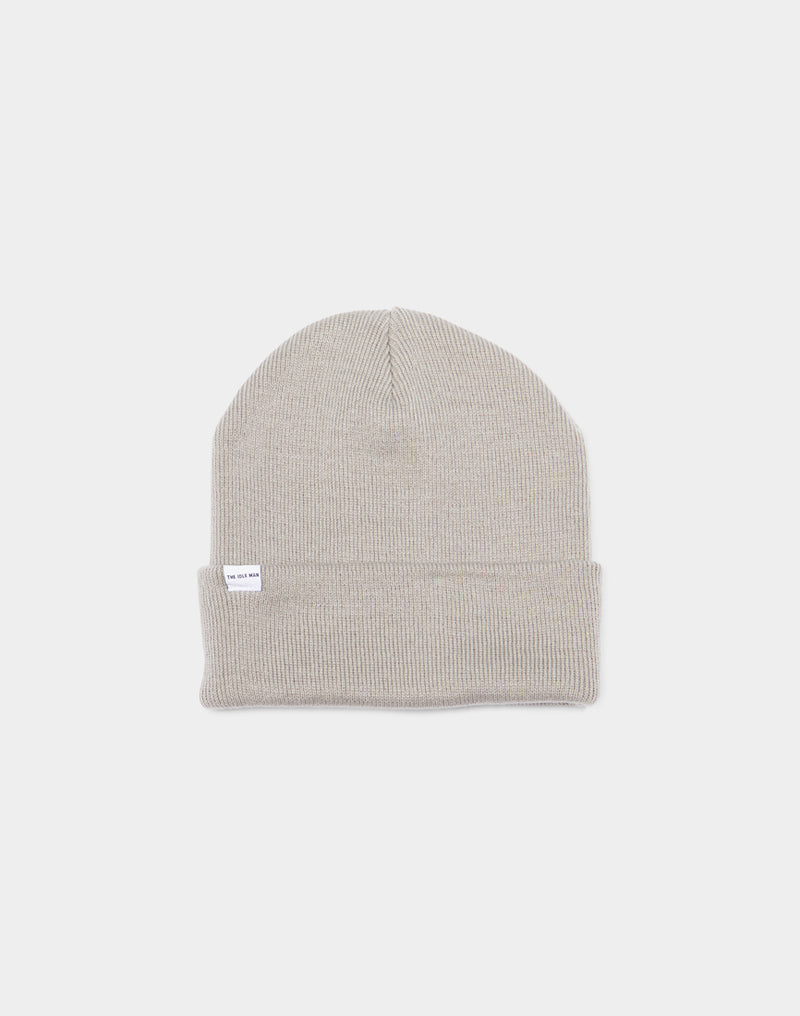 The Idle Man - Original Beanie Light Grey