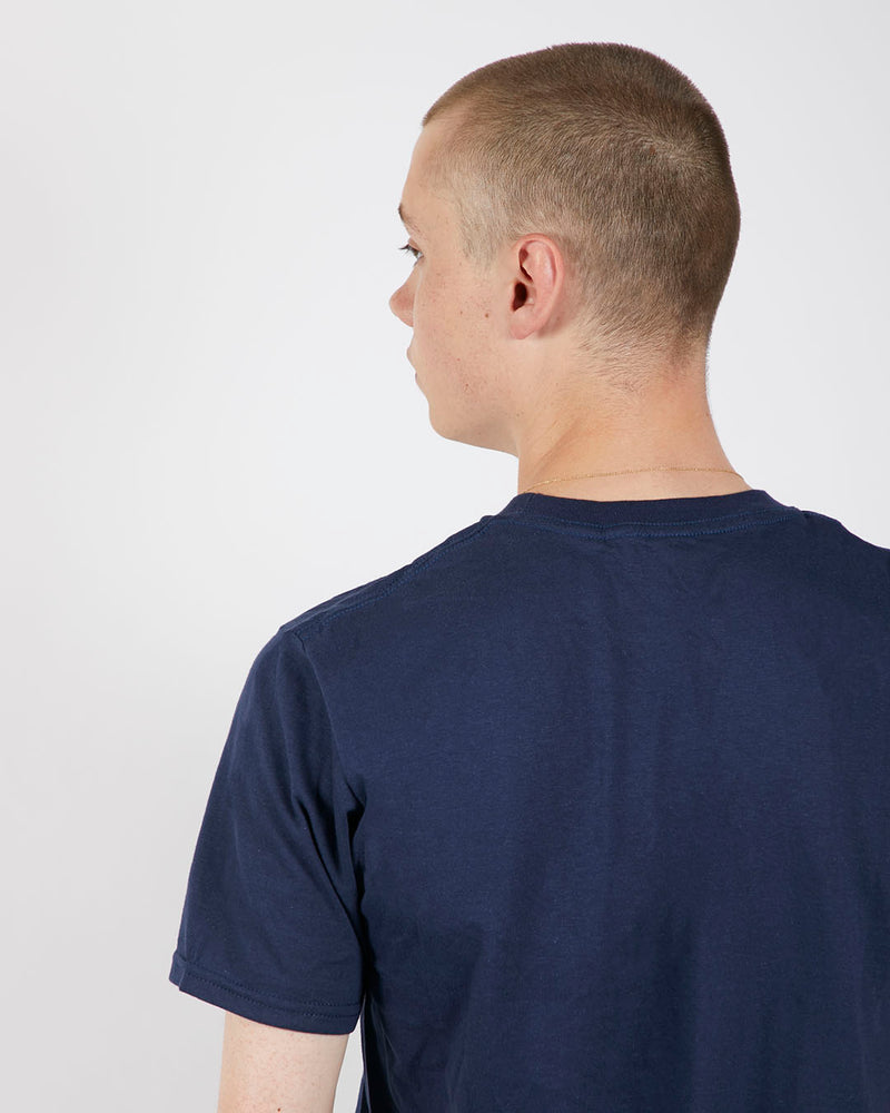 The Idle Man - Premium Classic T-Shirt 3 Pack Navy