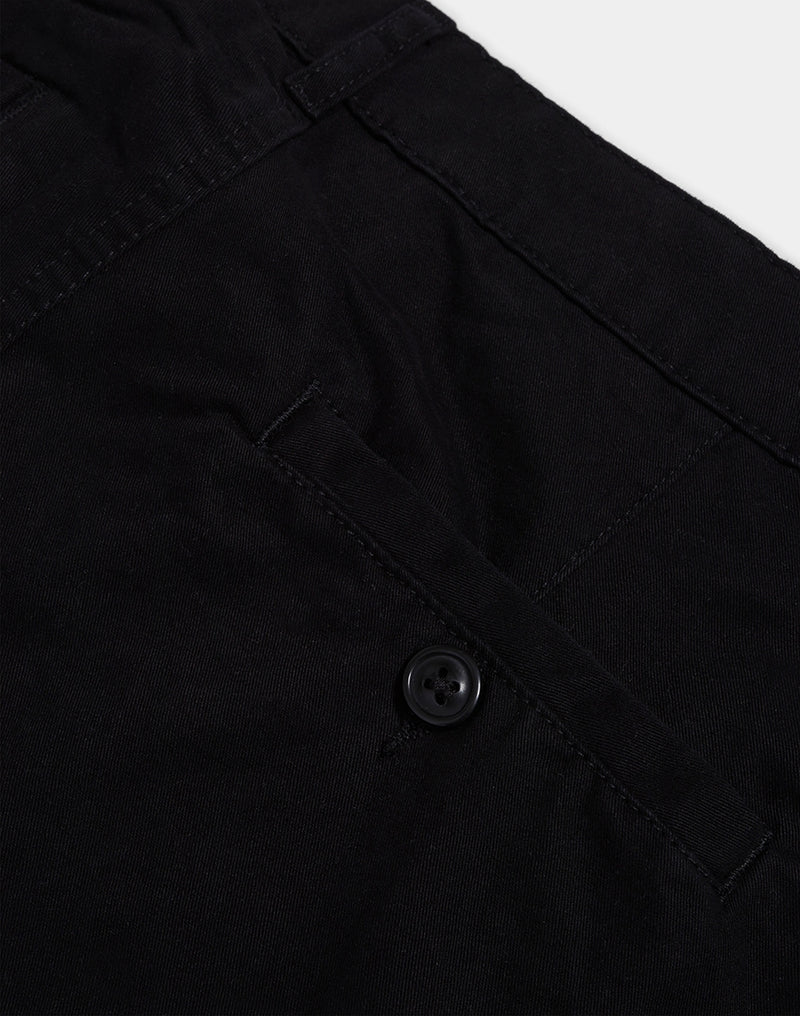 The Idle Man - Slim Leg Chino Black