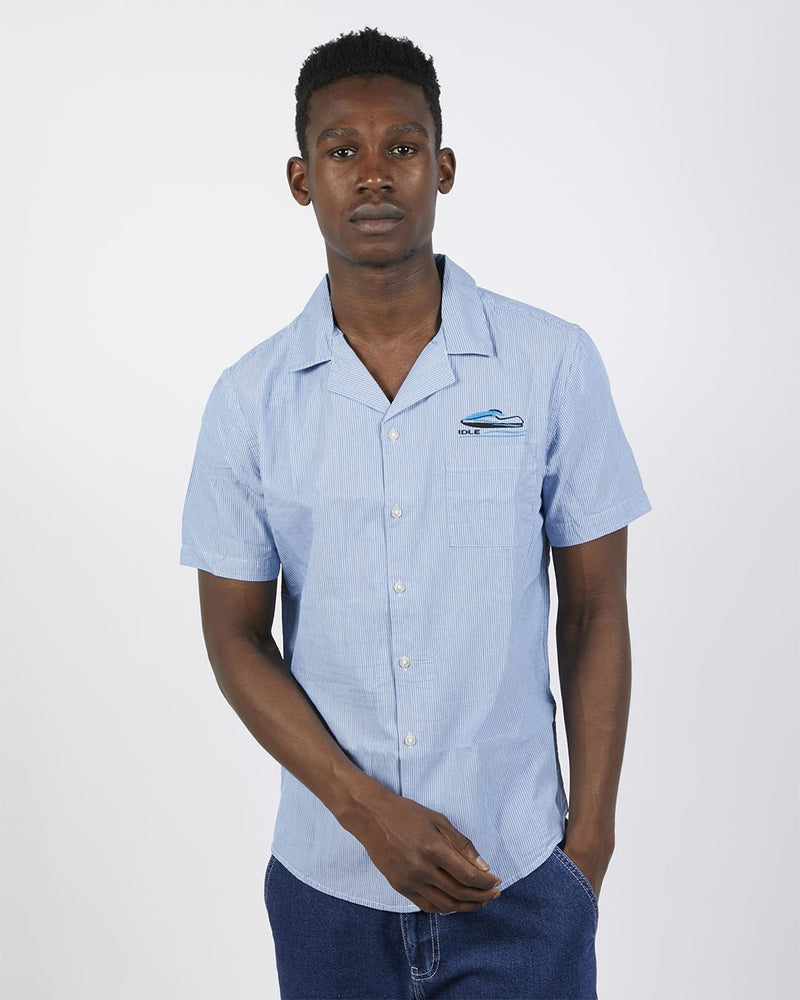 The Idle Man - Speed Shirt Blue