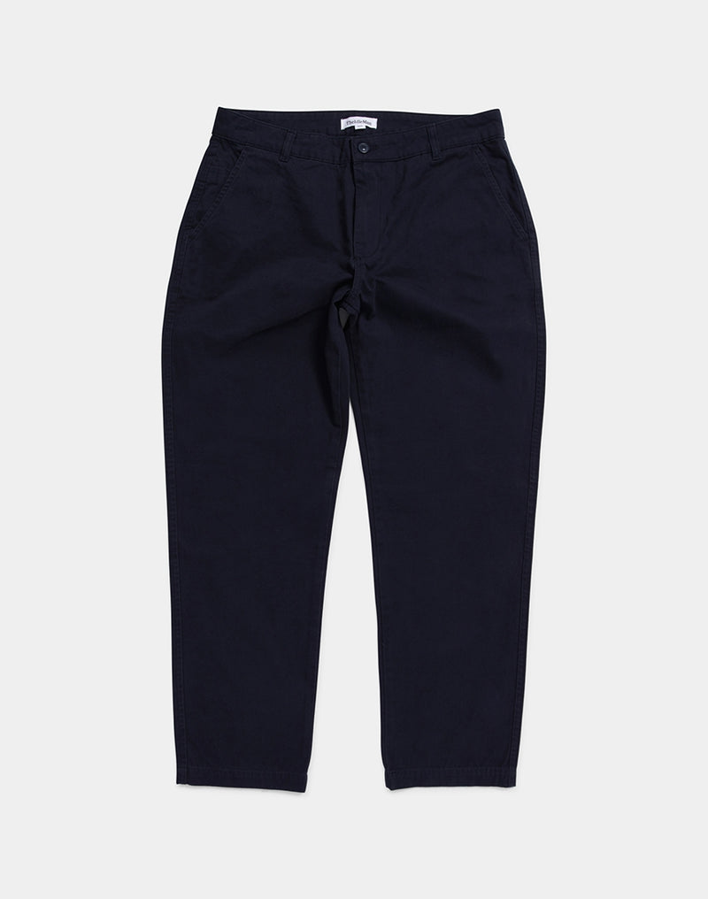 The Idle Man - Straight Fit Chino Navy