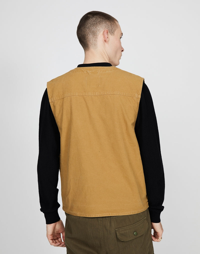 The Idle Man - Utility Vest Dark Stone