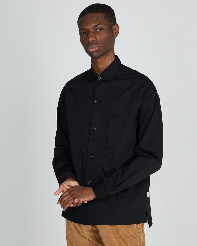 The Idle Man - Workers Shirt Black