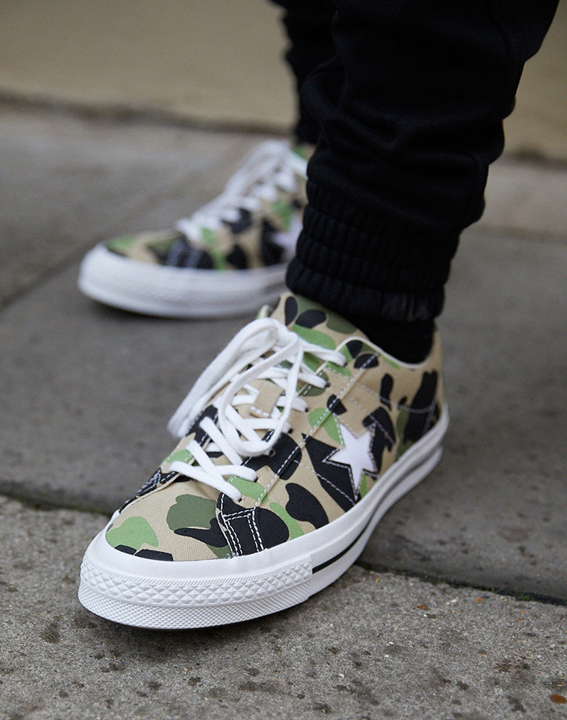 Converse - One Star Archive Print Camo