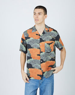 Portuguese Flannel - Japanese Pine Short Sleeve Shirt
