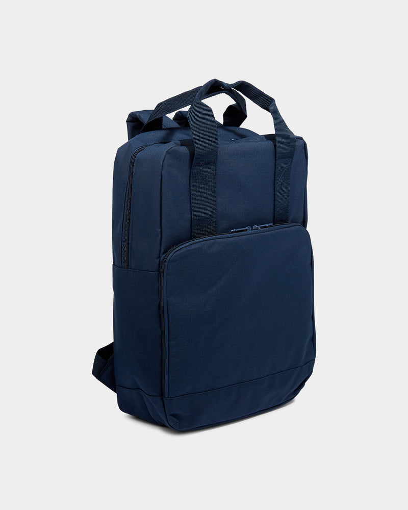 The Idle Man - Twin Handle Backpack Navy Dusk