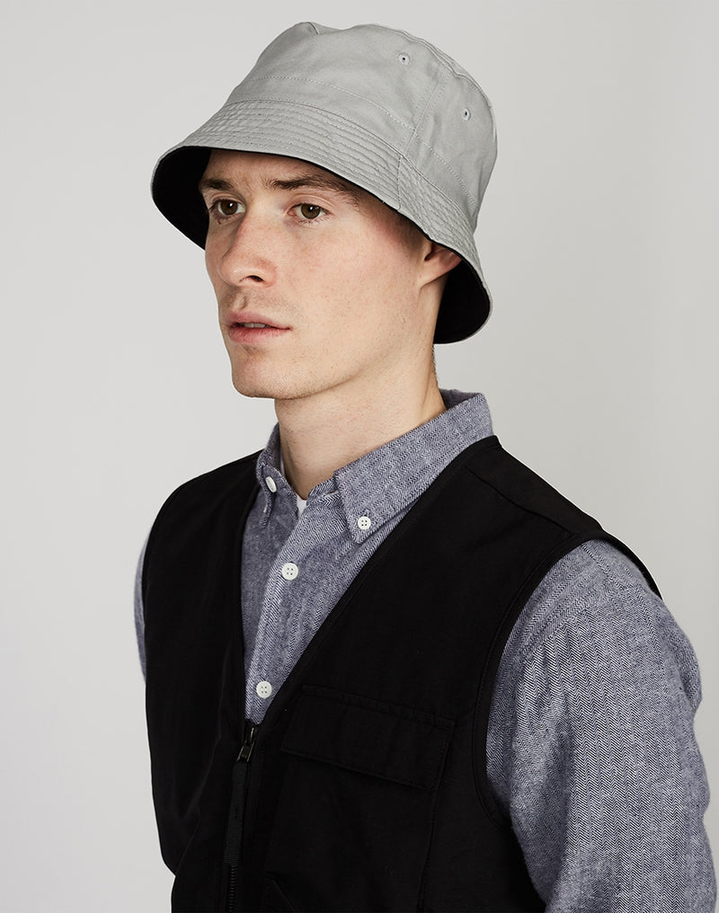 The Idle Man - Reversible Bucket Hat Black