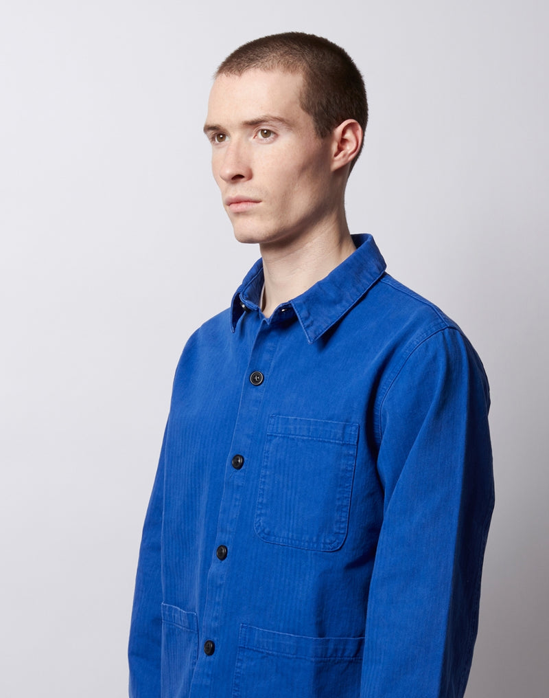 The Idle Man - Chore Jacket French Navy