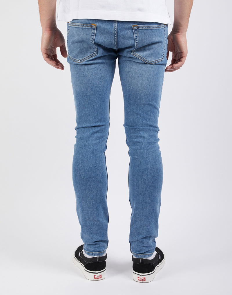 The Idle Man - Stretch Skinny Fit Stonewash Jeans