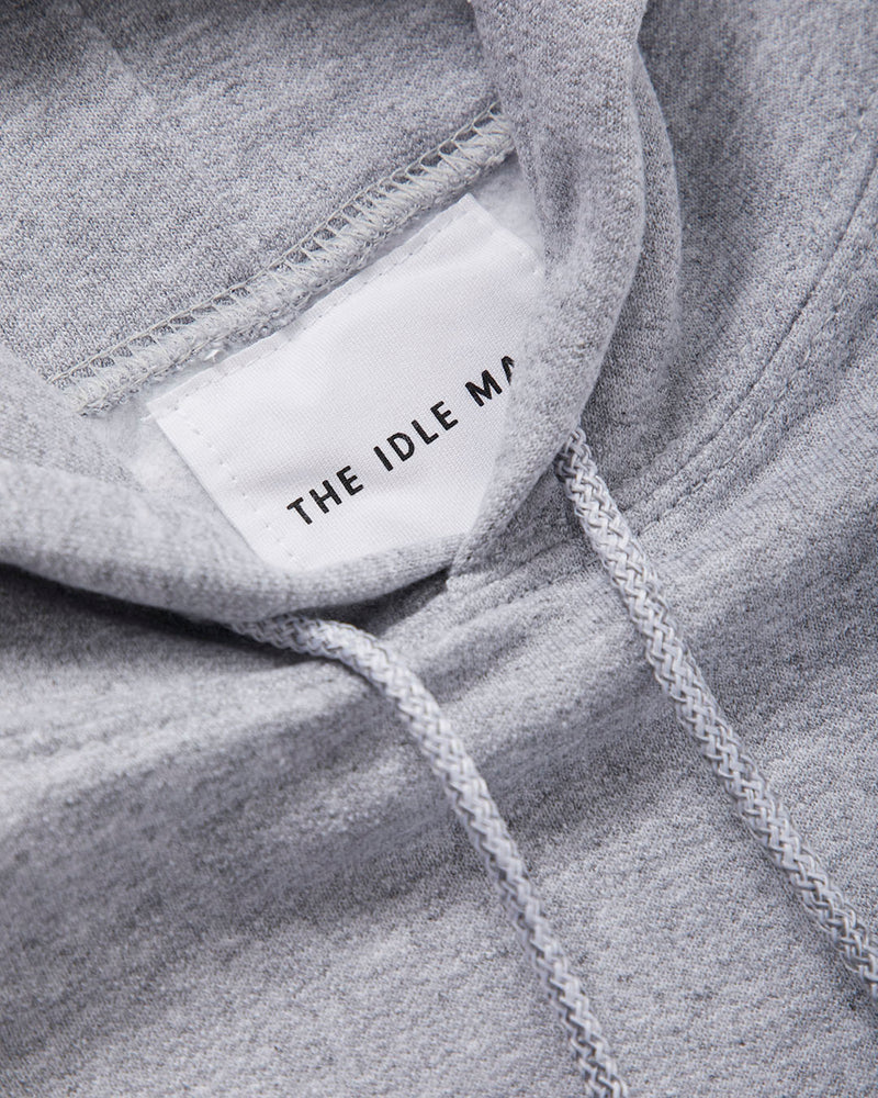 The Idle Man - Studio Hoody Grey