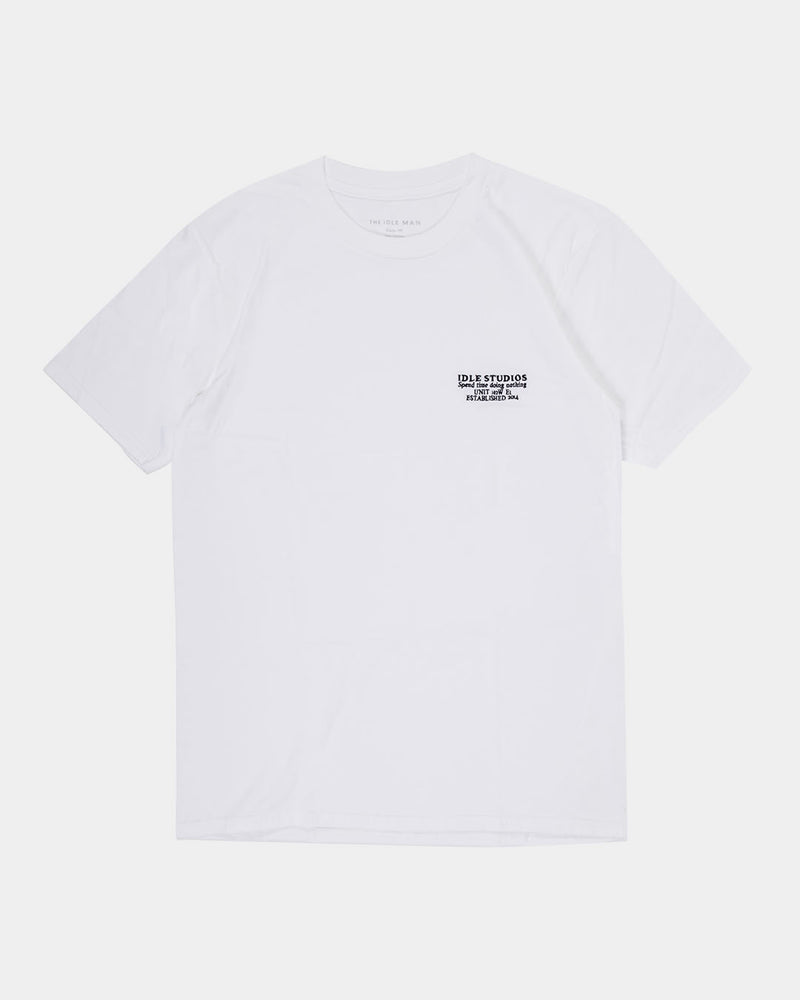 The Idle Man - Studio SS T-Shirt White