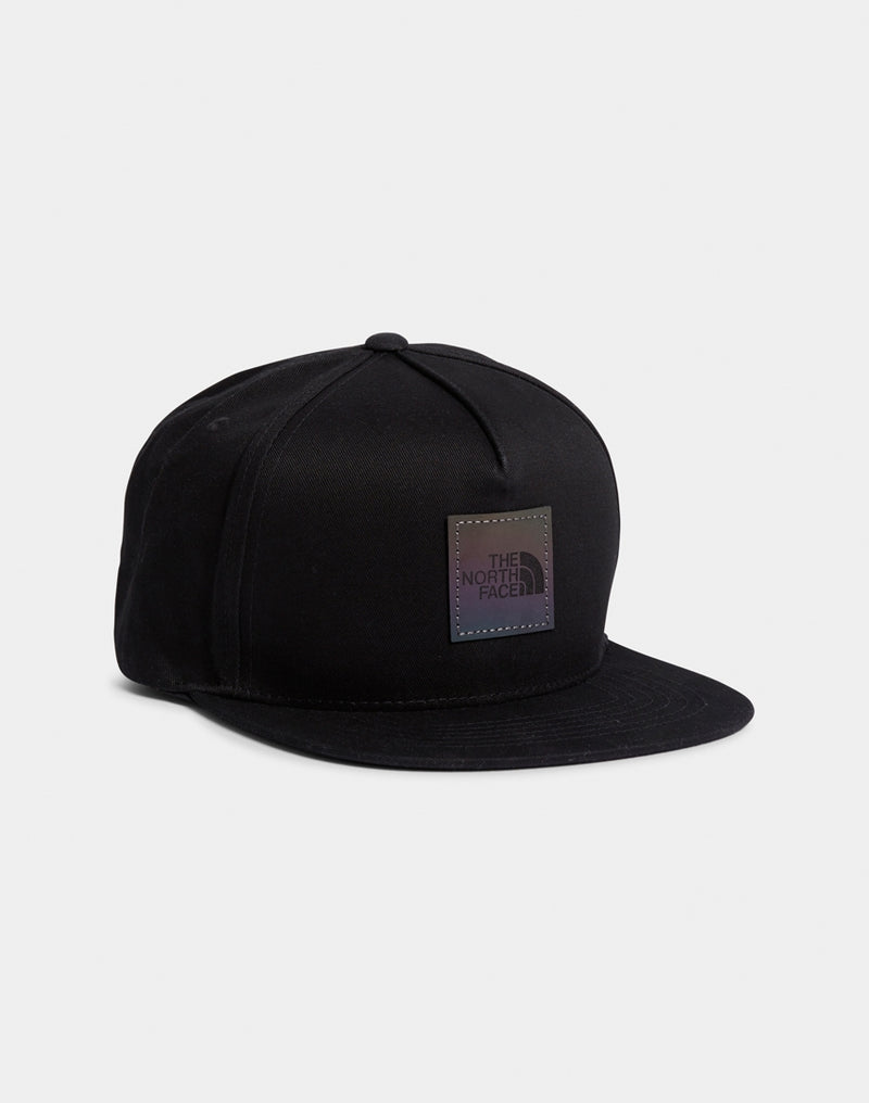The North Face - Street Ball Cap Black Iridescent Logo