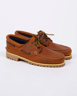 Timberland - Authentics 3 Eye Classic Shoe Brown