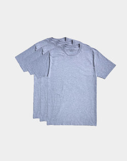 The Idle Man - Premium Classic T-shirt 3 Pack Grey