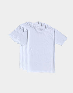 The Idle Man - Premium Classic T-shirt 3 Pack White