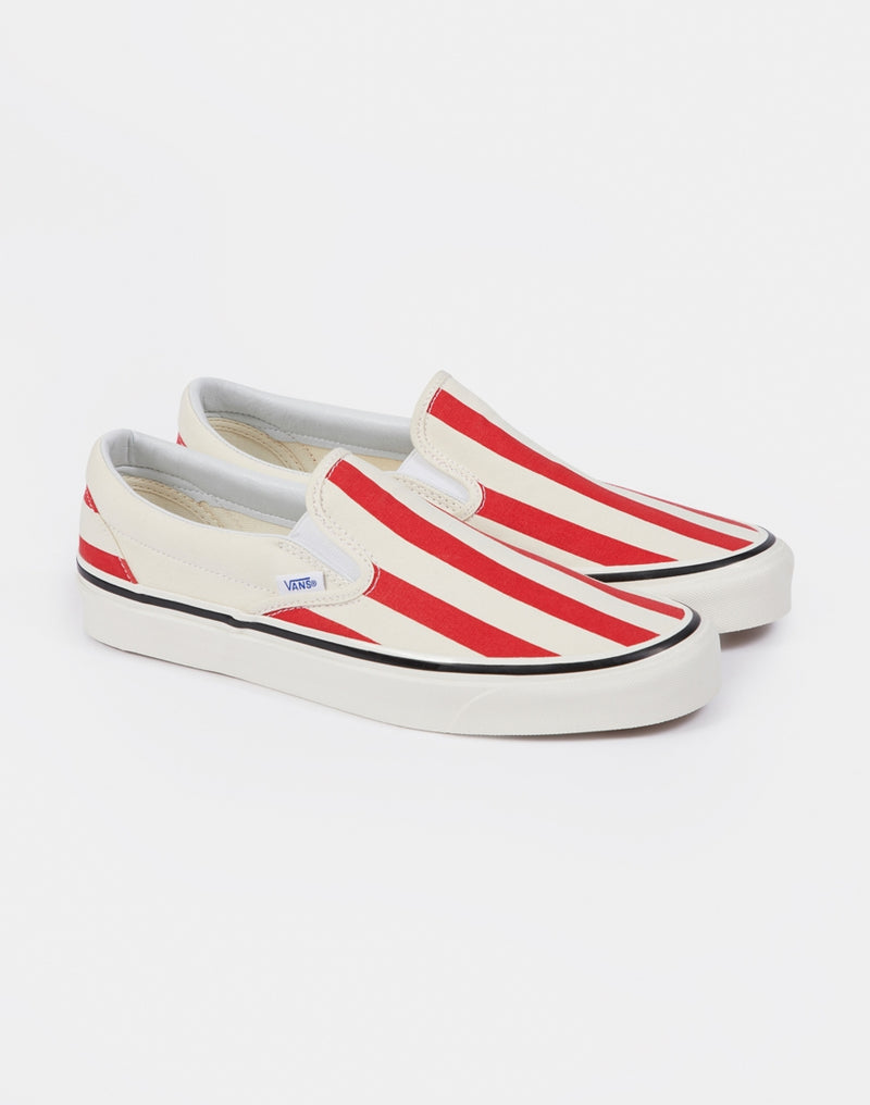 Vans - Classic Slip-On 98 DX Striped Red