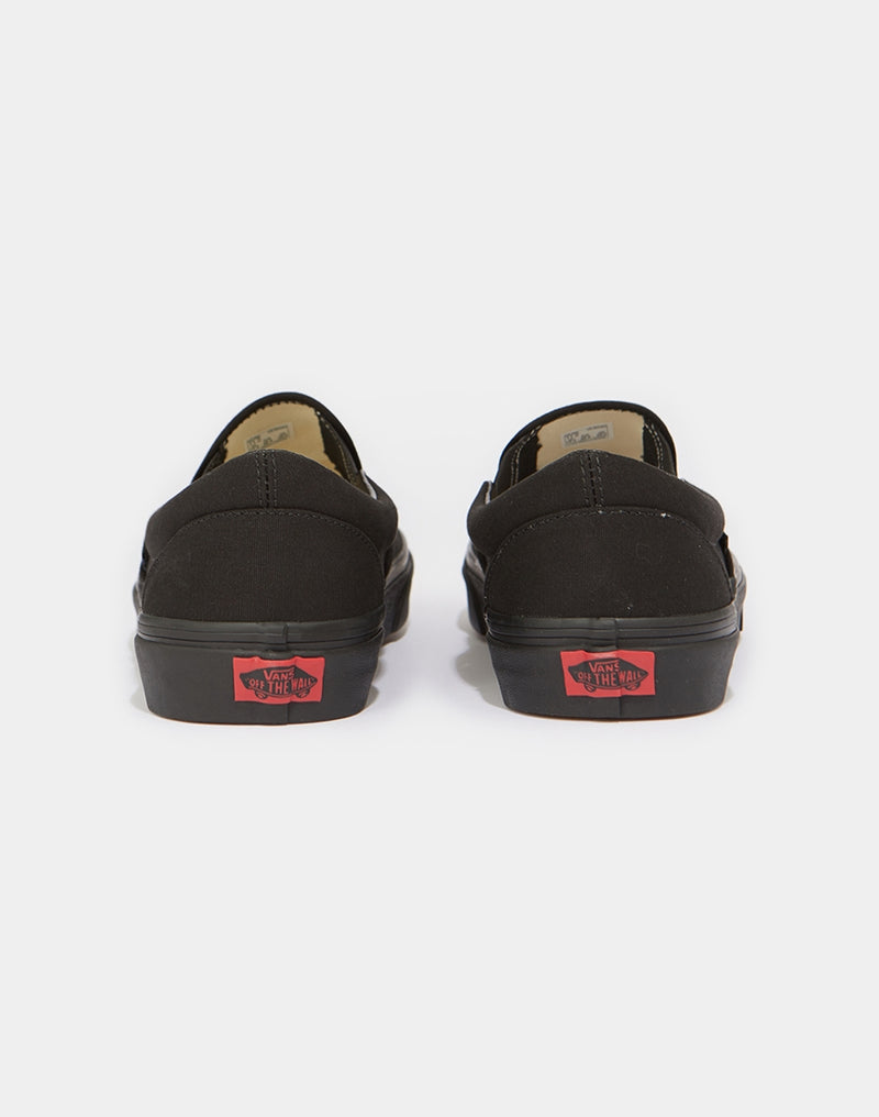 Vans - Classic Slip-On Trainers All Black
