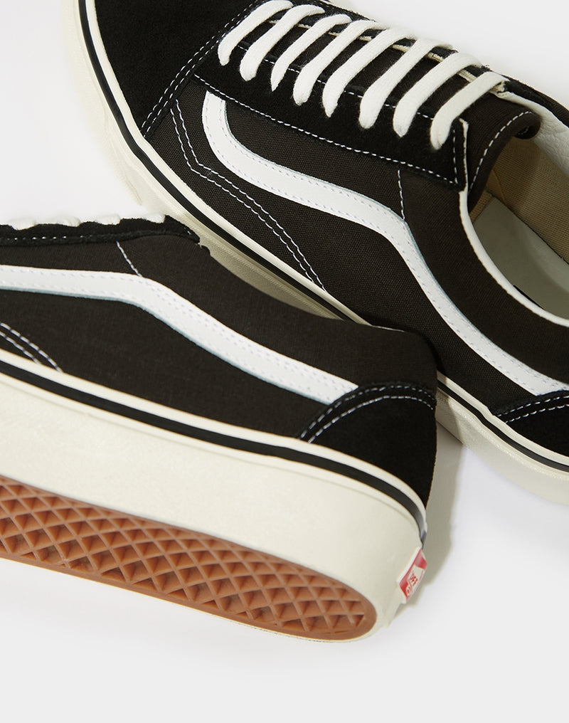 Vans - Anaheim Old Skool Trainer Black & White