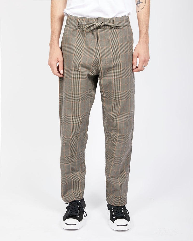 Wax London - Kurt Trousers in Check Stone