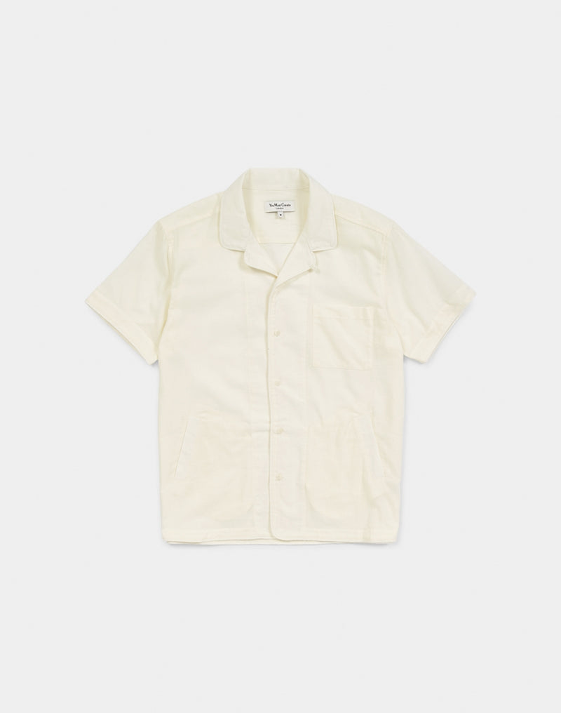 YMC - Chicano Cat's Meow Shirt Cream