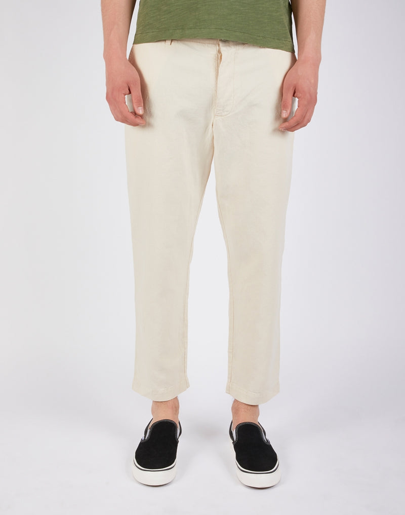 YMC - Hand Me Down Chinos in Linen Cream