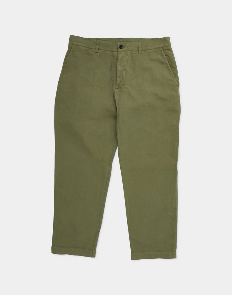 YMC - Hand Me Down Chinos in Linen Green